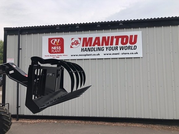 "Manitou 7'6"" Muck Fork"